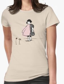 Flower Girl - Victorian illustration T-Shirt
