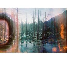 Acid Lake Photographic Print