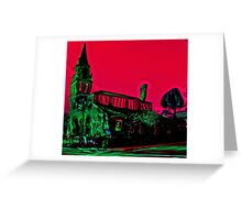 Church St. Augustine  Greeting Card