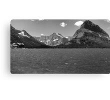 Swiftcurrent Lake, Many Glacier Canvas Print