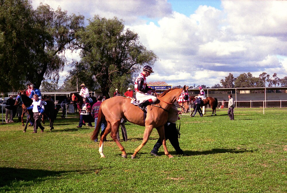 Parading in the Mounting Yard - Country Race Meeting by TonyCrehan