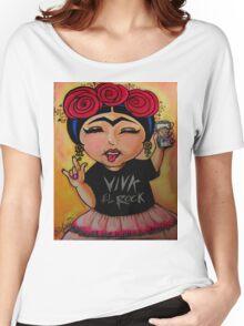 Frida Rocks / Frida Roquera Women's Relaxed Fit T-Shirt
