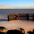 Southwold Groynes by Norfolkimages
