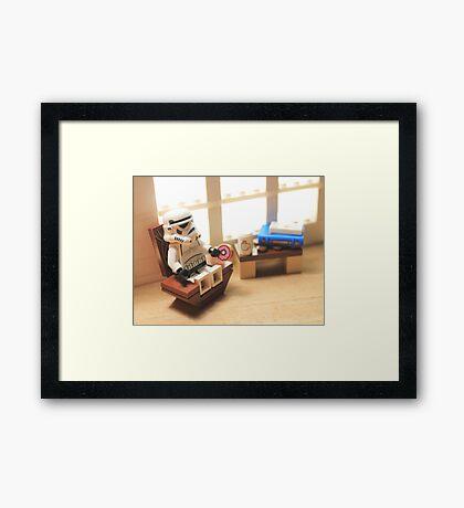 Sundaytrooper Framed Print