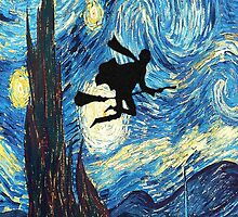 The Starry Night Harry Potter by Frogstone