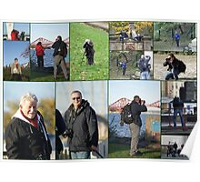 Collage of the Guys & Gals (#2) Edinburgh Bubblemeet Poster