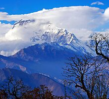 Dhaulagiri Rising by Harry Oldmeadow