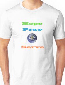 Hope,Pray,Serve T-Shirt