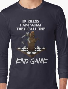 Chess End Game Long Sleeve T-Shirt