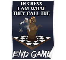 Chess End Game Poster