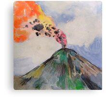 volcano 3 Canvas Print