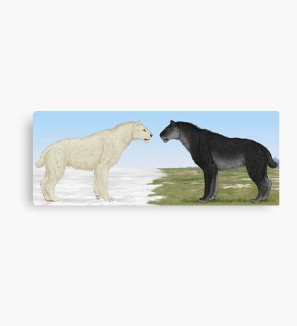 Seasonal Sabertooth Canvas Print