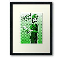 Dreamy Luigi Framed Print