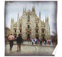 IL DUOMO DI MILANO - ITALIA Poster