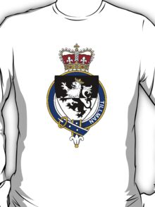 Coat of arms (family crest) for last-name or surname Tillman (England) . Heraldry banner for your name. T-Shirt