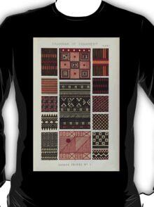 The Grammar of Ornament Owen Jones Francis Bedford Joh Burley Waring John Obadiah Westwood 1856 0023 Savage Tribes T-Shirt
