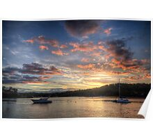 Sunset Blessings - Newport, Sydney - The HDR Experience Poster