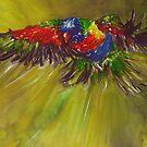 Rainbow flight by Shirlroma