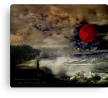The Prophet:  On Reason & Passion Canvas Print