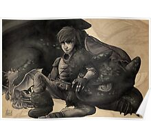 Dragon Trainer - Hiccup Poster
