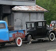 3 Generations of Motor Vehicles. by Maureen Dodd