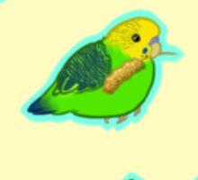 Parakeet Pattern II Sticker