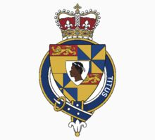 Coat of arms (family crest) for last-name or surname Titus (England) . Heraldry banner for your name. Kids Clothes