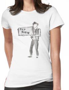 Subterranean Homesick Blues Womens Fitted T-Shirt