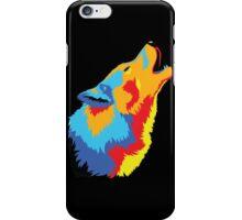 Popart Wolf  iPhone Case/Skin