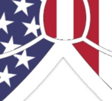 USA Bow Sticker