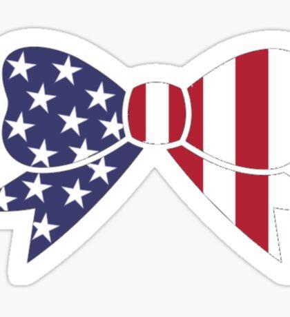 USA Bow Sticker