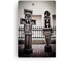Adelaide Sculptures - Art Gallery of South Australia Canvas Print