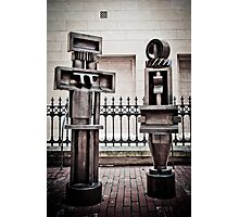 Adelaide Sculptures - Art Gallery of South Australia Photographic Print