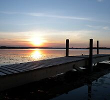 JK Morning Sunrise Dock #11 by John Kranitz