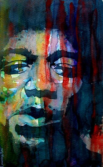 Jimi Hendrix &quot; Winds Cry Mary&quot; by LoveringArts