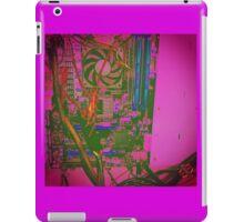 Neon Compute Pink iPad Case/Skin