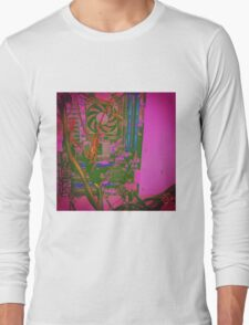 Neon Compute Pink Long Sleeve T-Shirt