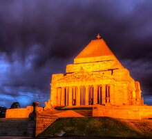 Shrine of Remembrance by pdra