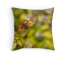 Gatekeeper Butterfly #2 Throw Pillow