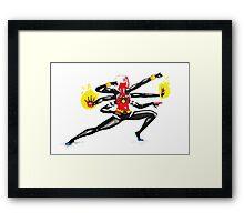 spider women fusion Framed Print