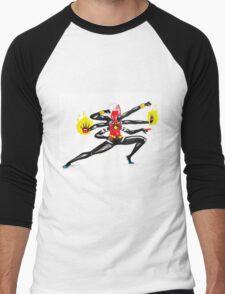 spider women fusion Men's Baseball ¾ T-Shirt