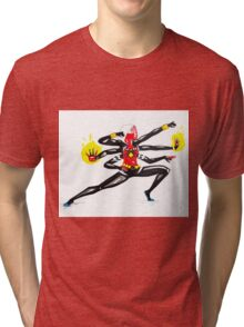 spider women fusion Tri-blend T-Shirt