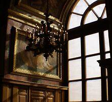 Chateau de Fontainebleau ballroom detail by BronReid