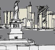 New York  by iskamontero