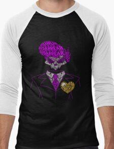 Mystery Skulls Typography Men's Baseball ¾ T-Shirt