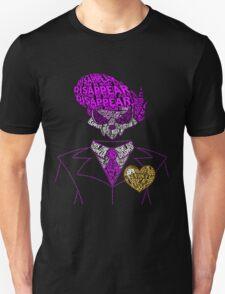 Mystery Skulls Typography Unisex T-Shirt