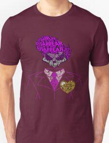 Mystery Skulls Typography T-Shirt