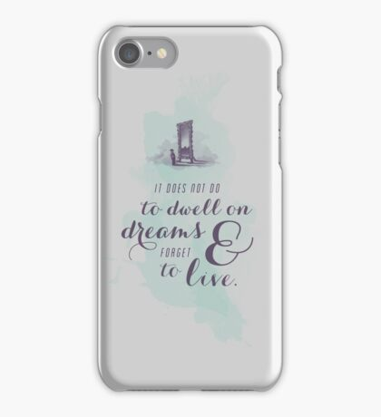 Dwell on Dreams iPhone Case/Skin
