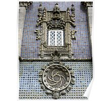 Portugese Late Gothic Style Facade Poster