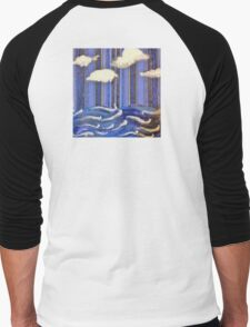 Seascape Escape Men's Baseball ¾ T-Shirt